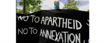 International-law - No to Apartheid, no to Annexation